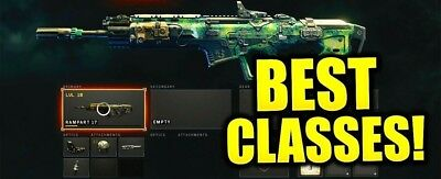 Call of Duty Black Ops 4 PS4 Xbox Pro Class Setup