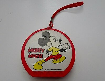 Mickey Mouse AM Transistor Radio VGC Vintage Collectable Working 9V