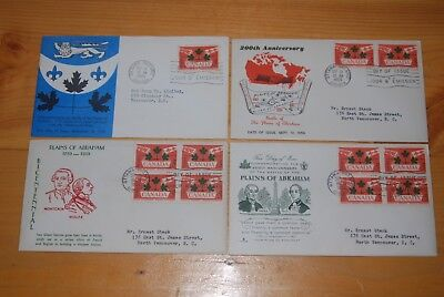 Weeda Canada 388 Cacheted FDCs, lot of First Day Covers