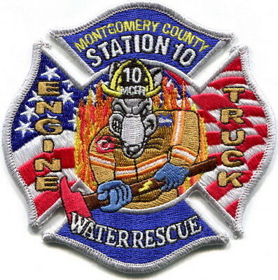 Maryland - Montgomery County Fire Station 10  Cabin John Park current patch