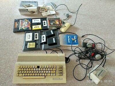 Commodore 64 computer and accessories