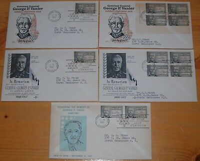 Weeda Canada 474 Cacheted FDCs, lot of First Day Covers