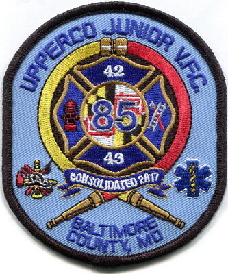 Maryland -Baltimore County, Upperco VFC station 85 Juniors current patch