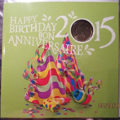 Happy Birthday 2015 6 Coin Set With Special Loonie