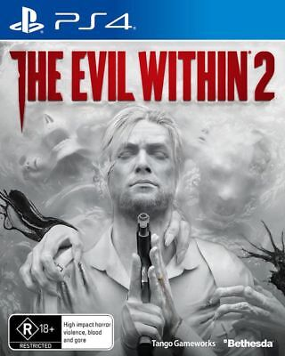 The Evil Within 2 PS4 LIKE NEW FREE POST INCLUDES MANUAL!