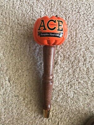 "Beer-Barware-Brewania-Tap Handle-Ace Pumpkin Hard Cider-10""-Nice Condition"
