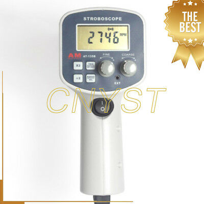 Non Contact Digital Handheld Stroboscope Strobe Flash Meter Measurement Tester