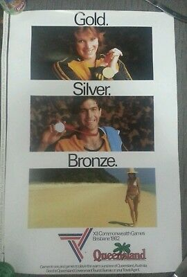 Tourism Commonwealth Games 1982 Advertising Memorobilia For Gold Coast History