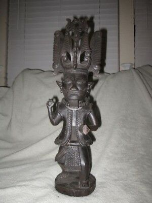 Nias Ancestor Figure-Sumatra Indonesia Pacific Oceania Carving Dayak Asian