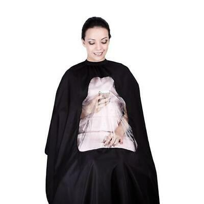 *UK Seller* PROFESSIONAL Hairdresser Barber Gown Cape Salon Hair Cut Apron Cover