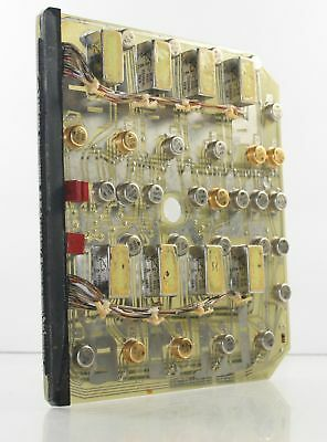 NASA Apollo COMMAND MODULE FLIGHT HARDWARE NAA / Motorola Computer Circuit Board