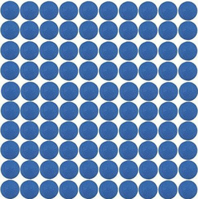 Tactical  Toy 100pcs Blue Rounds Balls Darts Gift Refill For Nerf Zeus Apollo