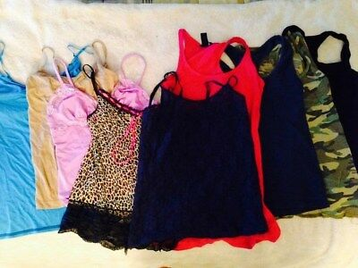 lot of 9 Tank tops/Camis