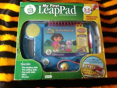 Leap Frog My First Leap Pad Pre School Learning Inclu Dora The Explorer Boxed