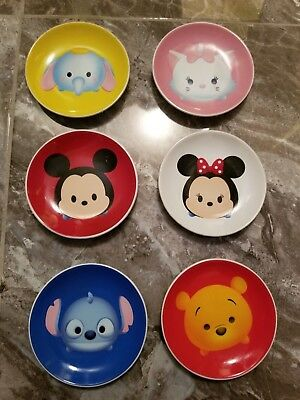 """Disney Parks Micky Mouse, etc  """"Tsum Tsum"""" Dish Small Plate"""