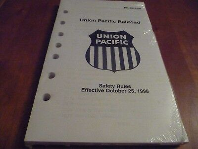 Union Pacific Safety Rules - 1998