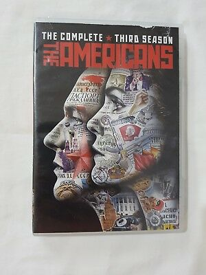 The Americans Season 3 (DVD, 4 Disc Set, 2015)