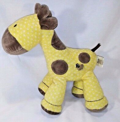 Carter's Just One Year Baby Giraffe Crib Toy Moving Head Plays Music Plush EUC