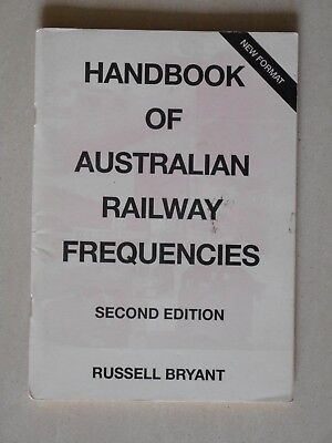 Handbook of Australian Railway Frequencies 2nd Edition