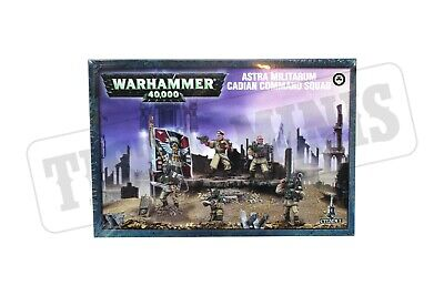 Warhammer Imperial Guard Cadian Command Squad New