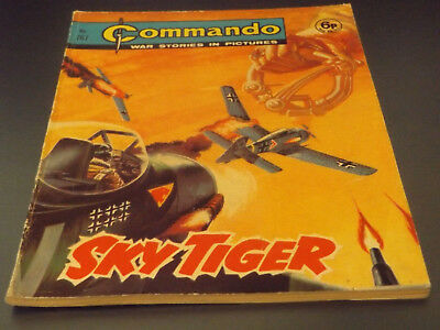 Commando War Comic Number 767 !!,1973 Issue,very Good For Age,45 Years Old,rare.
