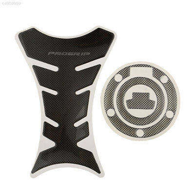 CEDB Progrip Carbon Motorcycle Tank Protector Sticker + Gas Cap Cover For Yamaha