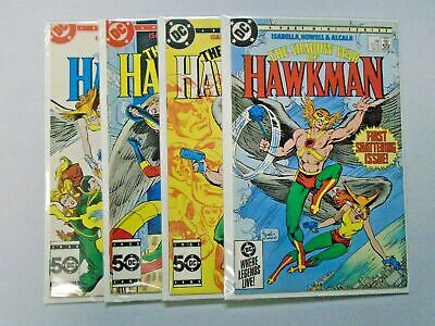 Shadow War of Hawkman (DC 1985) Set:#1-4, 8.0/VF - 1985