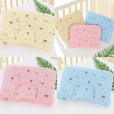 Newborn Sleeping Cushion Velvet  Baby Cot Pillow Soft Crib Bed Flat Head Support