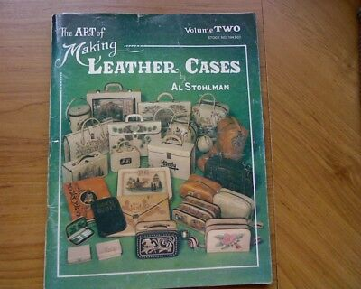 The Art of Making Leather Suit Cases, Vol. 2 Al Stohlman Craft book