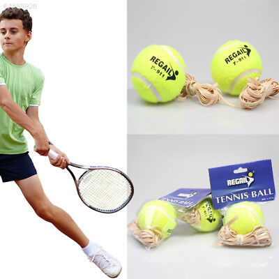 Tennis Training Ball With Elastic Rope Ball On Elastic String Trainer Practic uk