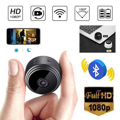 1080P wireless Wifi Hidden Camera Video Recorder Spy Home Security Night Vision