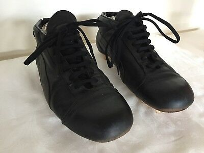 Vintage Puma Leather Football Boots circa late 1960's early 1970's