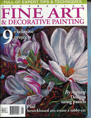 Art Magazine - Fine Art & Decorative Painting Magazine Vol 19 No 1