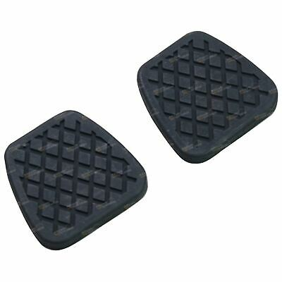 2 Pedal Pad Cover Rubbers suits Nissan Patrol GU Y61 Clutch / Brake Manual