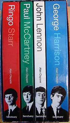 ♫ THE BEATLES  4 great biographies - OOP very good condition - unread  lot 12 ♫