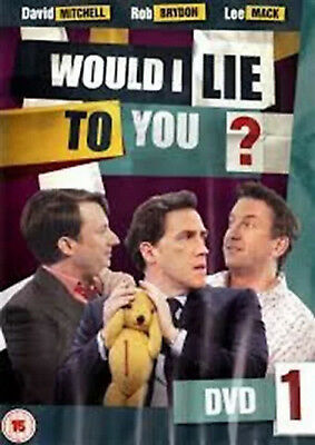 WOULD I LIE TO YOU COMPLETE SERIES 5 DVD Fifth Season Rob Brydon UK Release New