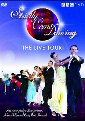 STRICTLY COME DANCING LIVE TOUR DVD Lilia Kopylova Reality TV UK Release New R2