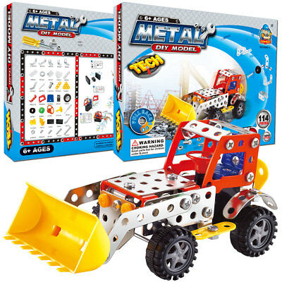 114 pcs Kids Education Building Blocks Toys Kit For Age 5+ Year Old Boys Girls