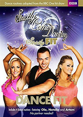 STRICTLY COME DANCING FIT DANCE WORKOUT EXERCISE FITNESS TRAINING DVD UK New R2