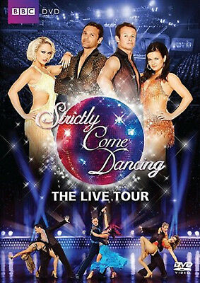 STRICTLY COME DANCING LIVE 2010 DVD Chris Hollins Ali Bastian Reality TV UK New