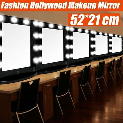 10 Led Bulbs Hollywood Vanity Makeup Mirror with Lights Dressing Table Mirrors Y