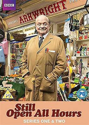 STILL OPEN ALL HOURS COMPLETE SERIES 1 & 2 DVD Season David Jason UK New R2