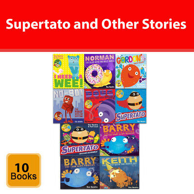 Supertato and Other Stories Collection Sue Hendra 10 Books Set  Children Pack