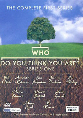 WHO DO YOU THINK YOU ARE COMPLETE SERIES 1 DVD First Season Amanda Redman UK New