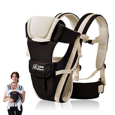 24726b127f0 Kangaroo Baby Carry Outdoor Wrap Backpack Multifunction Sling Infant  Breathable