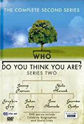 WHO DO YOU THINK YOU ARE COMPLETE SERIES 2 DVD Second Season Amanda Redman New