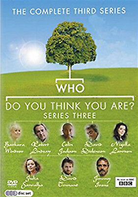 WHO DO YOU THINK YOU ARE COMPLETE SERIES 3 DVD Third Season Amanda Redman UK New