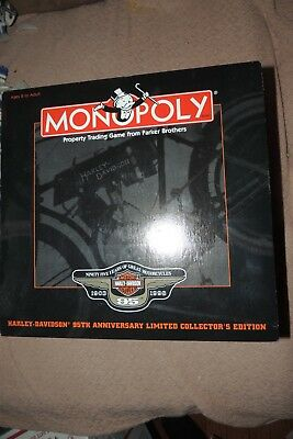Monopoly Special Harley Davidson 95th Edition