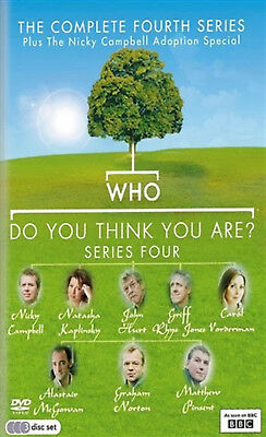 WHO DO YOU THINK YOU ARE COMPLETE SERIES 4 DVD Fourth Season Amanda Redman New
