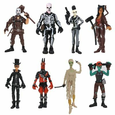 8PCS Fortnite Battle Game Royale Save The World PVC Action Figures Kids Toy Gift